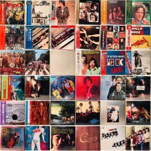 ビートルズ他、洋楽レコード買取させて頂きました。