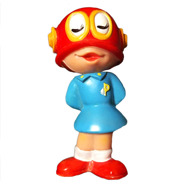 パーマン3号ソフビ人形