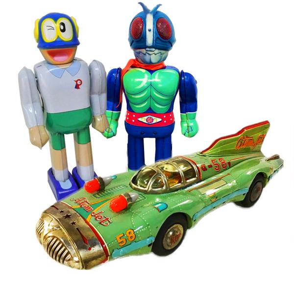 高価買取おもちゃのジャンル:ブリキ