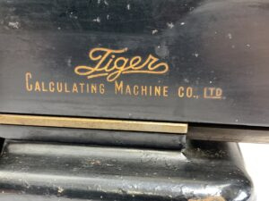 Tiger タイガー 機械式計算機
