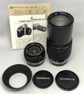 OLYMPUS オリンパス H.ZUIKO AUTO-W 24mm F2.8/ZUIKO MC AUTO-T 200mm F4