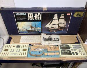 IMAI 黒船 1/80 木製キット