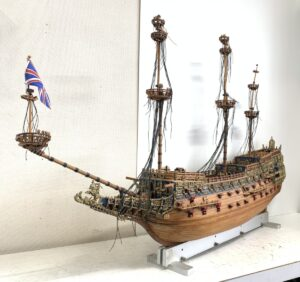 Sergal セルガル 1/78 Sovereign of the Seas ソブリン・オブ・ザ・シーズ 木製模型キット