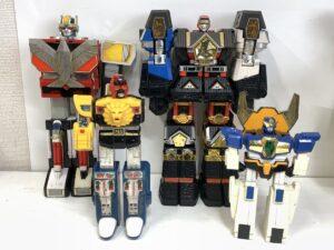 合体変形ロボット玩具