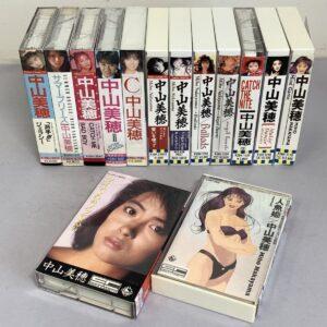 中山美穂 カセットテープ