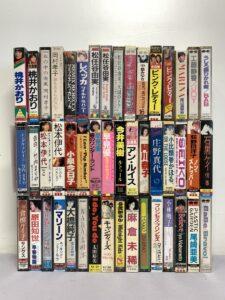 昭和アイドル 女性アーティスト カセットテープ