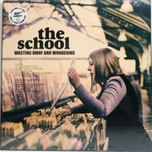 THE SCHOOL / WASTING AWAY AND MORNING / LP