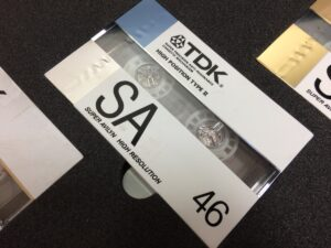 TDK カセットテープ NEW CASSETTES DESIGNED for DIGITAL SOURCES