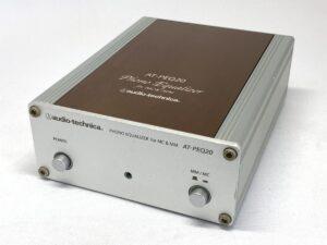 audio-technica オーディオテクニカ AT-PEQ20<動作品>◆フォノイコライザー MM/MC対応