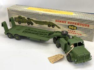 Dinky ディンキー 660 Tank Transporter